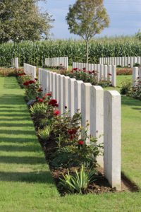 Le Grand Hasard Military Cemetery, Morbecque, Nord, France