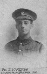 Pte J. Sowerby